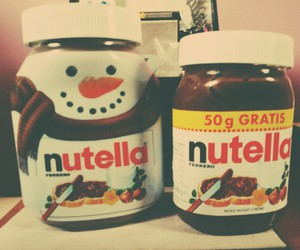 christmas, merry, and nutella image