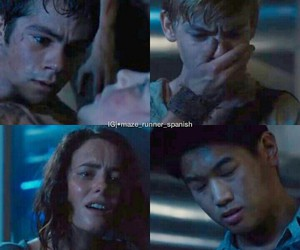 the maze runner, el corredor del laberinto, and correr o morir image