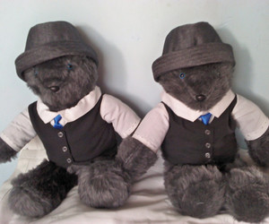 bears, neal caffrey, and hats image