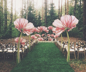 beautiful, boho, and flowers image