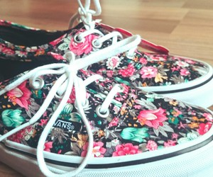 vans and flowers image