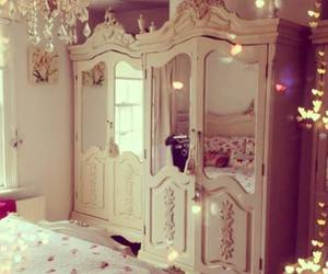 bedroom, girly, and room image