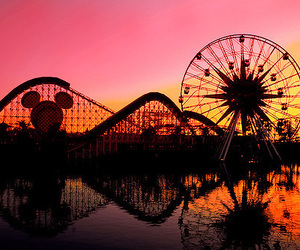 disney, fun, and sunset image