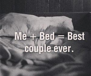 bed, couple, and me image