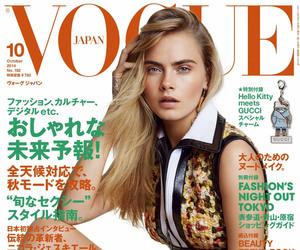 vogue, cara delevingne, and model image