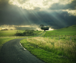 nature, beautiful, and clouds image