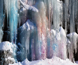 ice, nature, and blue image