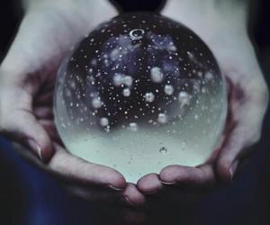 bubble, dark, and rain image