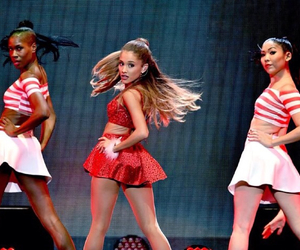 ariana grande, ari, and jingle ball image