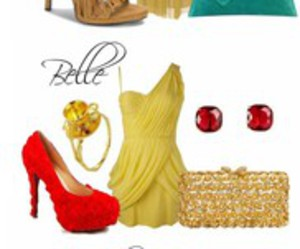 moda, vestidos, and estilo disney image