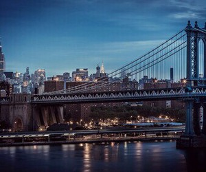 beautiful, night, and new york city image