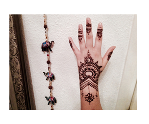 henna, nice, and orient image