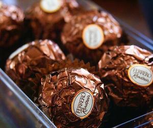 chocolate, food, and ferrero image
