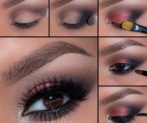 beauty, eyes, and make up image