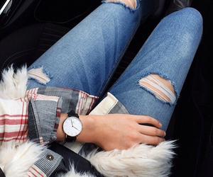 style, fashion, and watch image