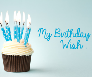 happy birthday, cupcake, and happy image