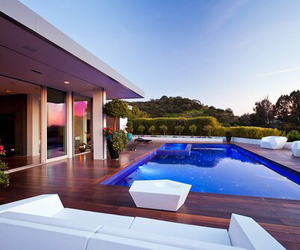 luxury, pool, and house image
