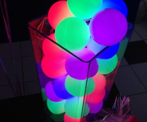 neon and party image