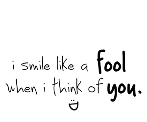 fool, smile, and you image