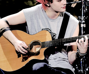 edit, red hair, and 5 seconds of summer image