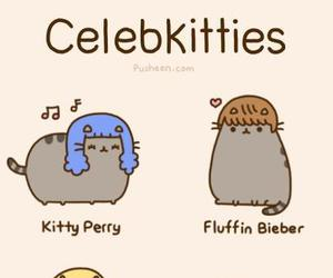 pusheen, cat, and kitty image