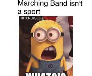 band, minion, and sport image