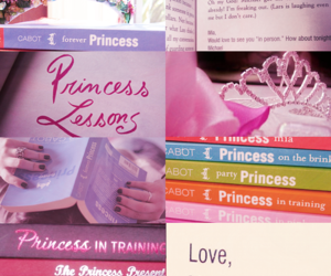 meg cabot, mia, and princess diaries image