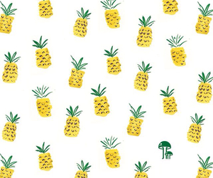hipsters, pineapple, and vintage image