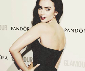 lily collins, pretty, and actress image