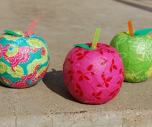 apples, colorful, and crafts image
