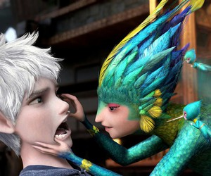 jack frost, tooth fairy, and rise of the guardians image