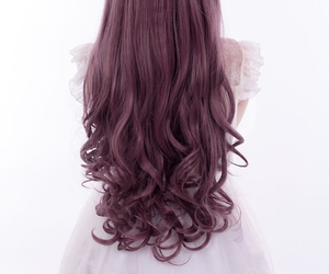 curly and long image