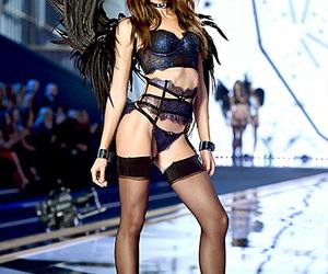 Victoria's Secret, Lily Aldridge, and model image