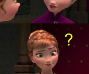 anna, funny, and elsa image