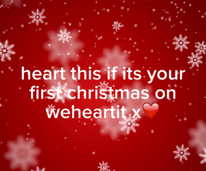 christmas and we heart it image