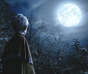 jack frost, rise of the guardians, and moon image
