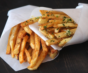 chips, frites, and food image