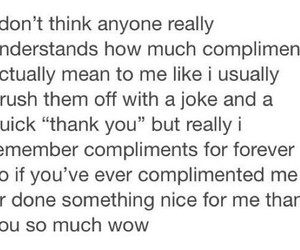 compliment, pretty, and quote image