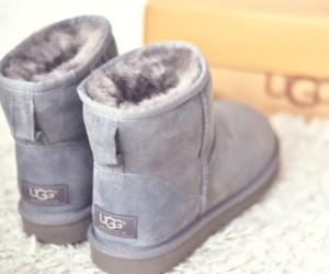 ugg, shoes, and grey image