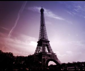 eiffel tower and paris image