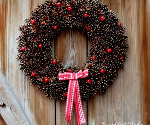 bow, decoration, and christmas image