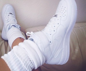 fashion, white, and sneekers image