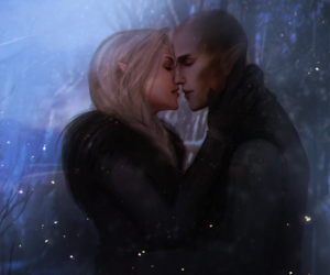 kiss, solas, and love image