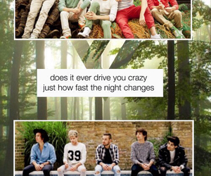 one direction, night changes, and boys image