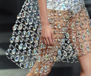 chandelier, Couture, and fashion image