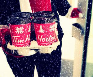 coffee, canada, and winter image