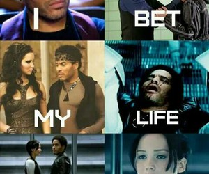 hunger games and cinna image