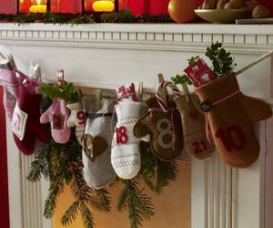 christmas, decorations, and rustic image