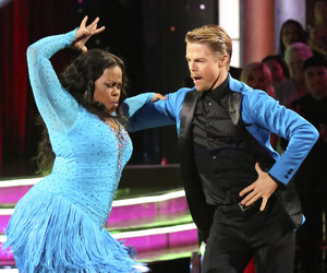 dancing with the stars, derek hough, and amber riley image
