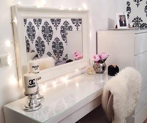 home decor, interior, and all white image